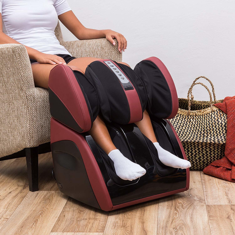 Using A calf massager