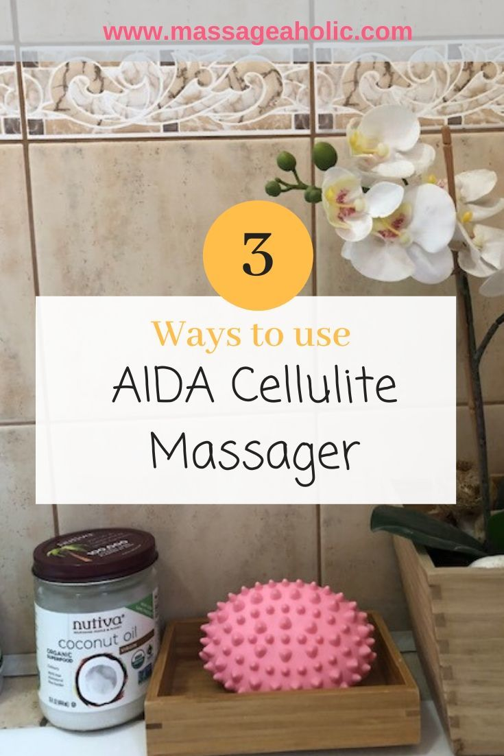 How to use AIDA cellulite massager