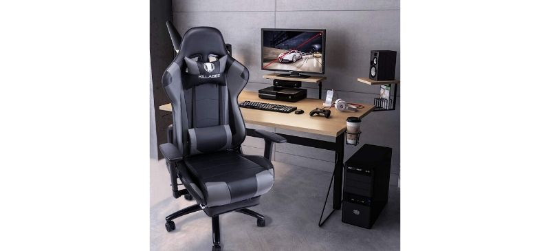Review_ KILLABEE Big and Tall 350lb Massage Gaming Chair